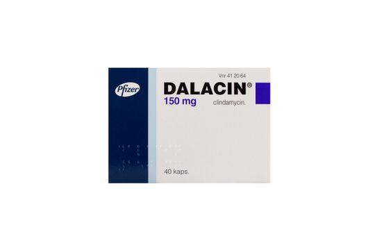 Dalacin Kapsel, hård 150 mg Klindamycin 40 styck