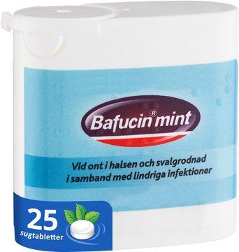 Bafucin Mint Sugtablett, 25 st
