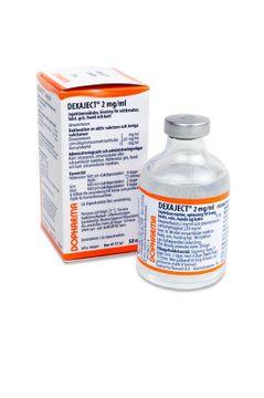 Dexaject Injektionsvätska, lösning 2 mg/ml 50 milliliter