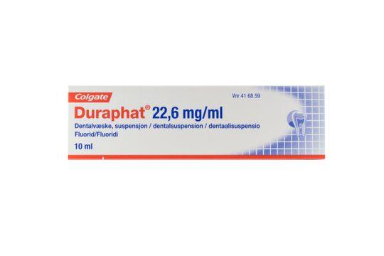 Duraphat Dentalsuspension 22,6 mg/ml 10 milliliter