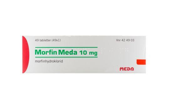 Morfin Meda Tablett 10 mg Morfin 49 x 1 styck