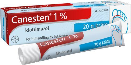 Canesten Kräm 1 % 20 g