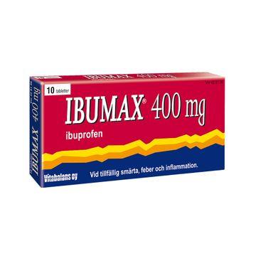 Ibumax Filmdragerad tablett 400 mg Ibuprofen 10 tablett(er)