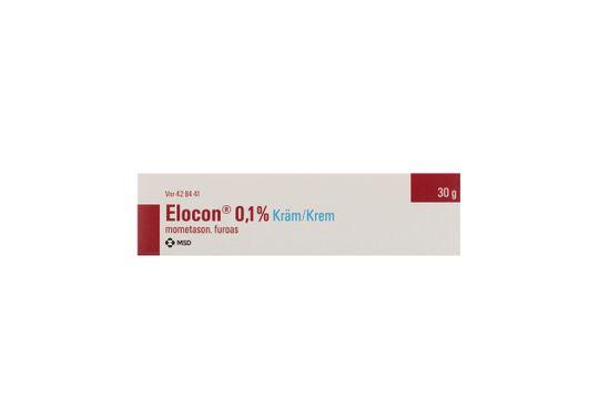Elocon Kräm 0,1 % Mometason 30 gram