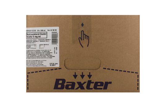Natriumklorid Baxter Viaflo Infusionsvätska, lösning 9 mg/ml Natriumklorid 20 x 500 milliliter