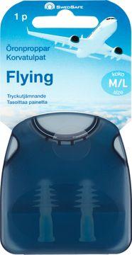 SwedSafe Flygproppar Large Öronproppar, 1 par