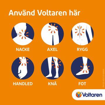 Voltaren Gel 11,6 mg/g Diklofenak, gel, 75 g
