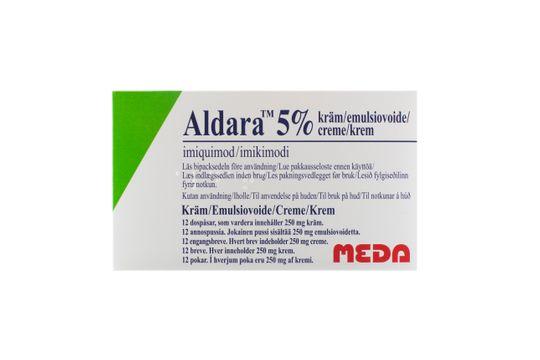 ALDARA Kräm 5 % Imikvimod 12 styck