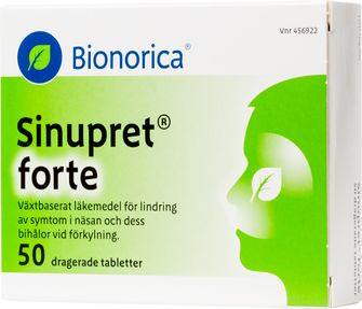 receptfria läkemedel mot förkylning