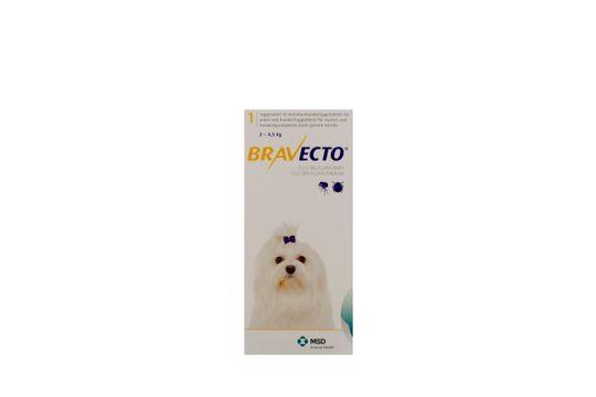 Bravecto för mycket små hundar (2-4,5 kg) Tuggtablett 112,5 mg 1 tablett(er)