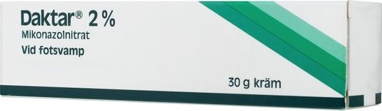 Daktar, kräm 2 % Mikonazol, kräm, 30 g