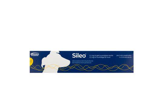 Sileo Munhålegel 0,1 mg/ml 3 milliliter