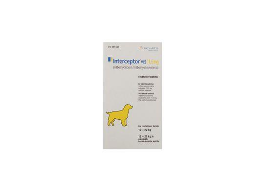 Interceptor vet. Tablett 11,5 mg 6 tablett(er)