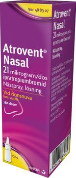 Atrovent Nasal 21 mikrog/dos Ipratropium, nässpray, 15 ml