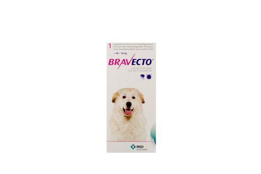 Bravecto för mycket stora hundar (>40-56 kg) Tuggtablett 1400 mg 1 tablett(er)