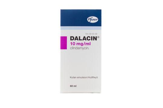 Dalacin Kutan emulsion 10 mg/ml 60 milliliter