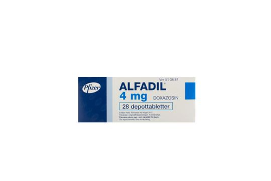 Alfadil Depottablett 4 mg Doxazosin 28 styck