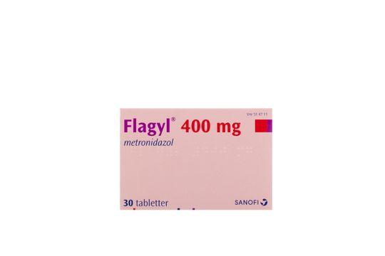Flagyl Tablett 400 mg Metronidazol 30 tablett(er)