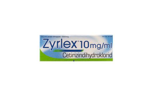 Zyrlex Orala droppar, lösning 10 mg/ml 20 milliliter