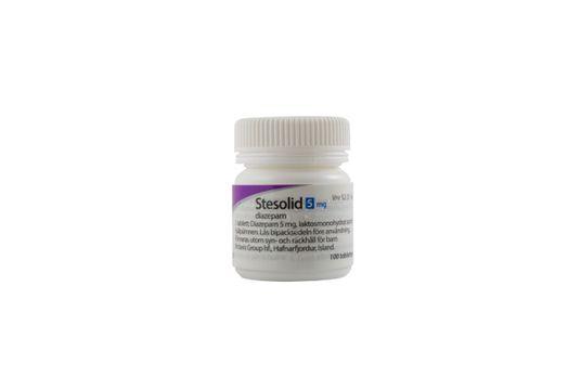 Stesolid Tablett 5 mg Diazepam 100 styck