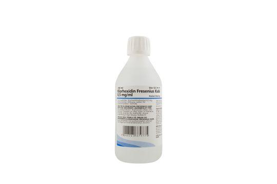 Klorhexidin Fresenius Kabi Kutan lösning 0,5 mg/ml 250 milliliter