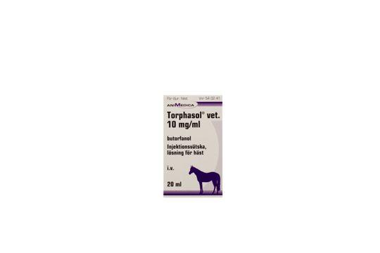 Torphasol vet. Injektionsvätska, lösning 10 mg/ml 20 milliliter
