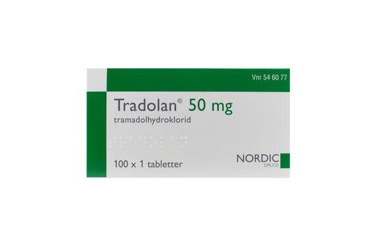 Tradolan Filmdragerad tablett 50 mg Tramadol 100 x 1 styck