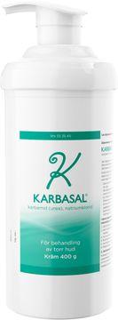 Karbasal Kräm Karbamid + natriumklorid 400 gram