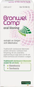 Bronwel Comp Oral lösning Växtbaserat läkemedel, lösning, 240 ml