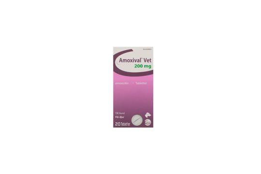 Amoxival vet Tablett 200 mg 2 x 10 tablett(er)