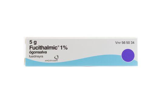 Fucithalmic Ögonsalva 1 % Fusidinsyra 5 gram