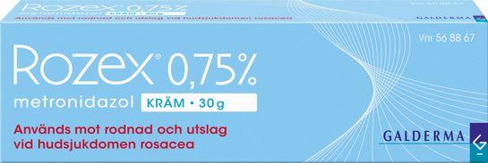 Rozex Kräm 0,75 % Metronidazol 30 gram