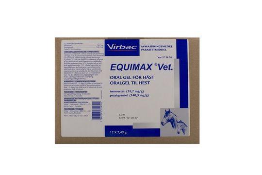 Equimax vet Oral gel 12 x 7,49 gram