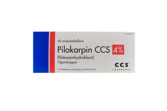 Pilokarpin Trimb Ögondroppar, lösning i endosbehållare 4 % 6 x 10 x 1 styck