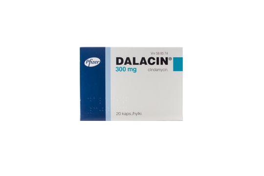 Dalacin Kapsel, hård 300 mg Klindamycin 20 styck