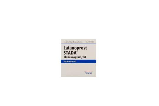 Latanoprost STADA Ögondroppar, lösning 50 mikrogram/ml Latanoprost 3 x 2,5 milliliter