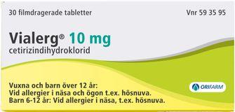 allergimedicin bäst i test