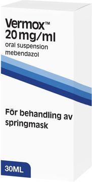 Vermox Oral Lösning Oral Lösning, 30 ml