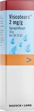 Viscotears 2 mg/g Karbomer, ögongel, 10 g