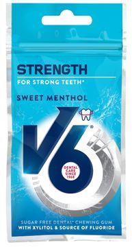 V6 Strong Teeth Fluor Sweet Menthol 30 G