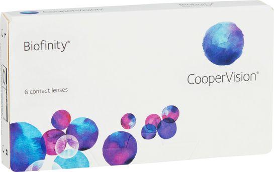 Biofinity Månadslins -1.25 6 st