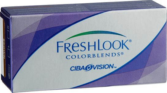 Freshlook Colorblends Färglins brown +0.00 2 st