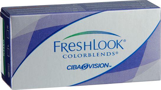 Freshlook Colorblends Färglins green +0.00 2 st