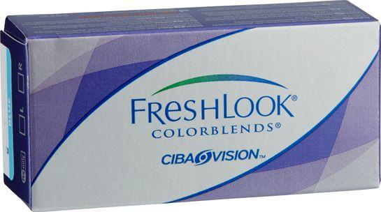 Freshlook Colorblends Färglins blue +0.00 2 st