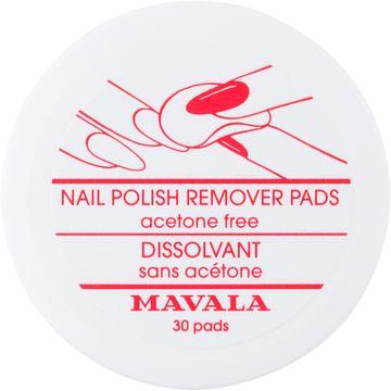 Mavala Nagellacksremover pads 30 st