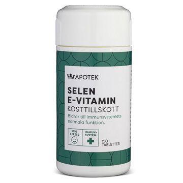 Kronans Apotek Selen + E-Vitamin Tablett, 150 st