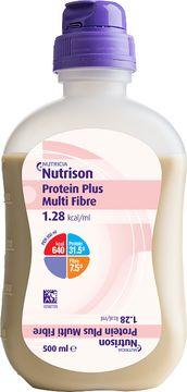 Nutricia Nutrison Protein Plus Multi Fibre Sondnäring. 12x500ml