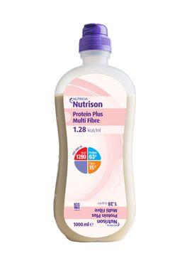 Nutricia Nutrision Protein Plus Multi Fibre Sondnäring. 8x1000 ml