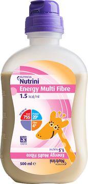 Nutricia Nutrini Energy Multi Fibre Sondnäring för barn. 12x500 ml