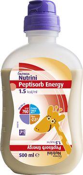 Nutricia Nutrini Peptisorb Energy Sondnäring för barn. 12x500ml